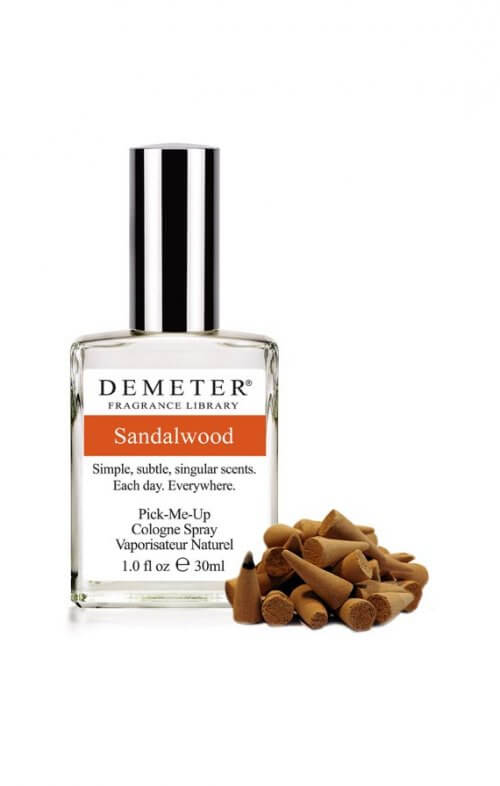 demeter sandalwood fragrance