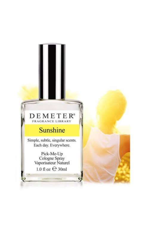 demeter sunshine fragrance