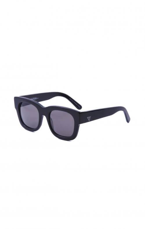 valley parasitos black gloss sunglasses