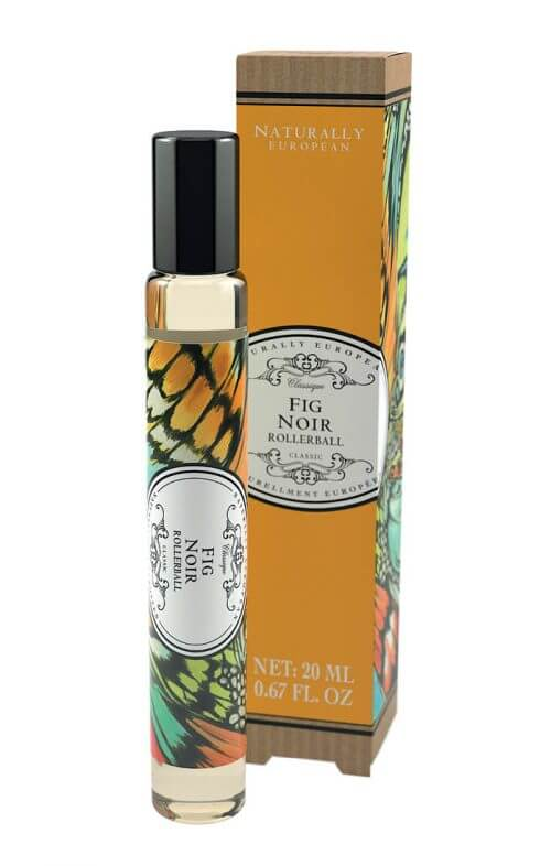 naturally european fig noir roller perfume