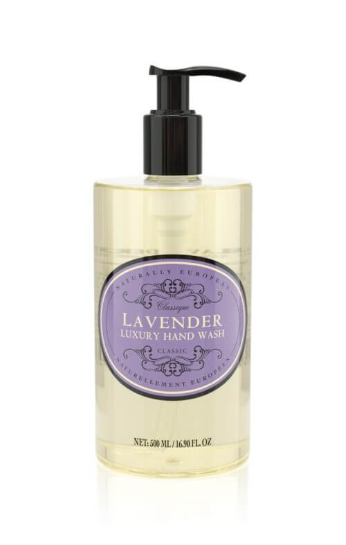 naturally european lavender hand wash