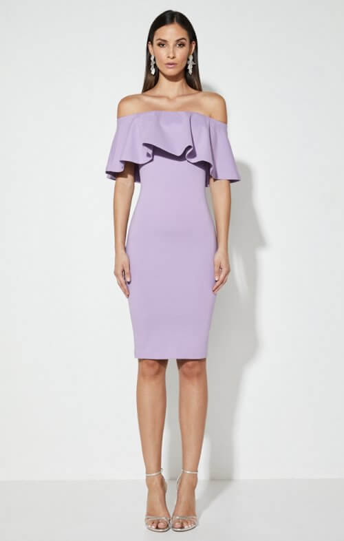 mossman kiss and tell dress lilac