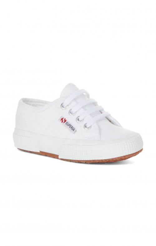 superga 2750 jcot kids white