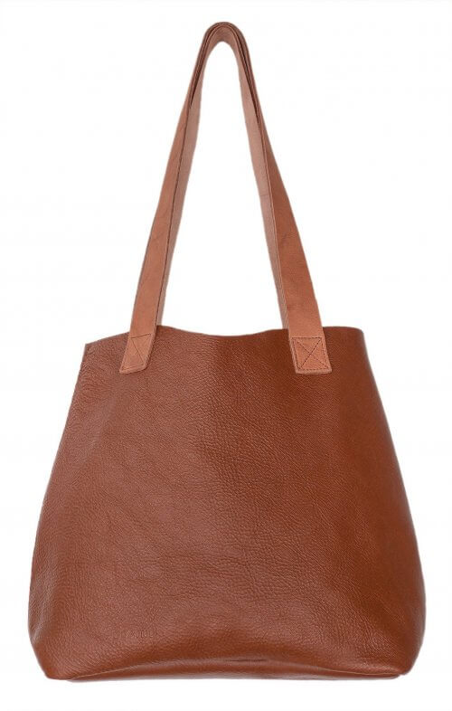 graine little lygon leather bag tan