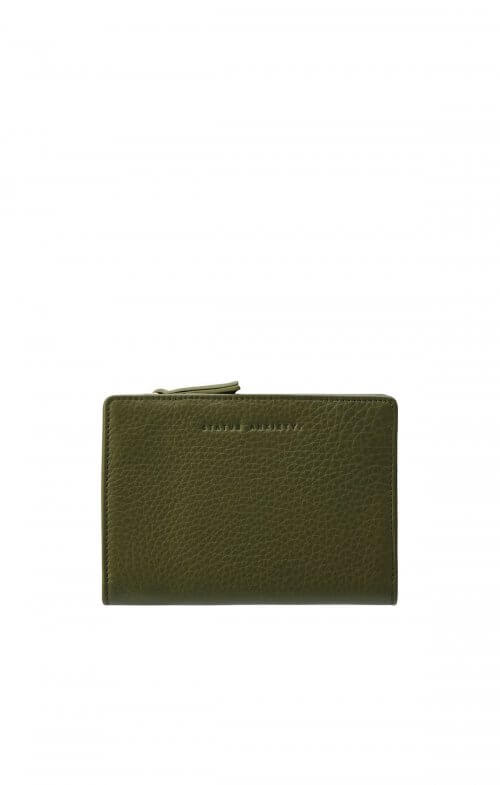 status anxiety insurgency wallet khaki