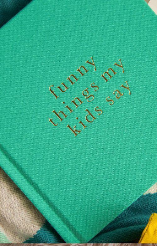 write to me funny things my kids say journal