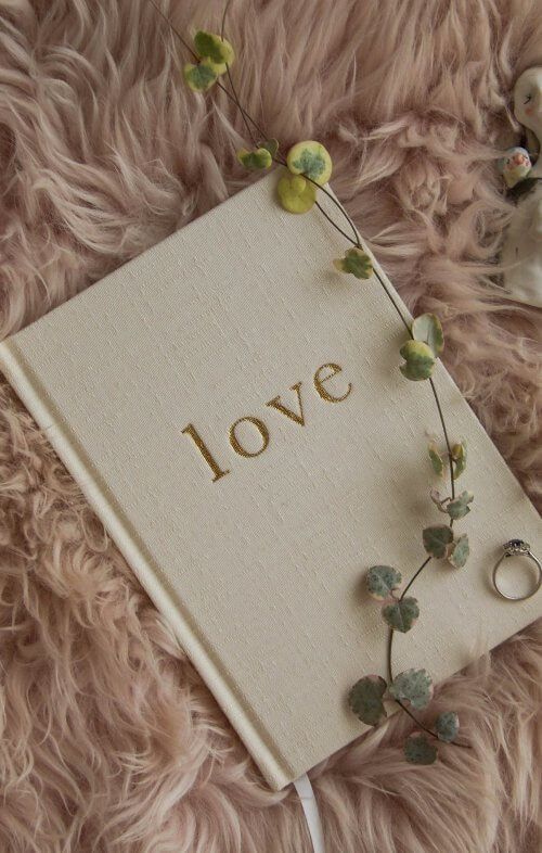 write to me love wedding planner journal