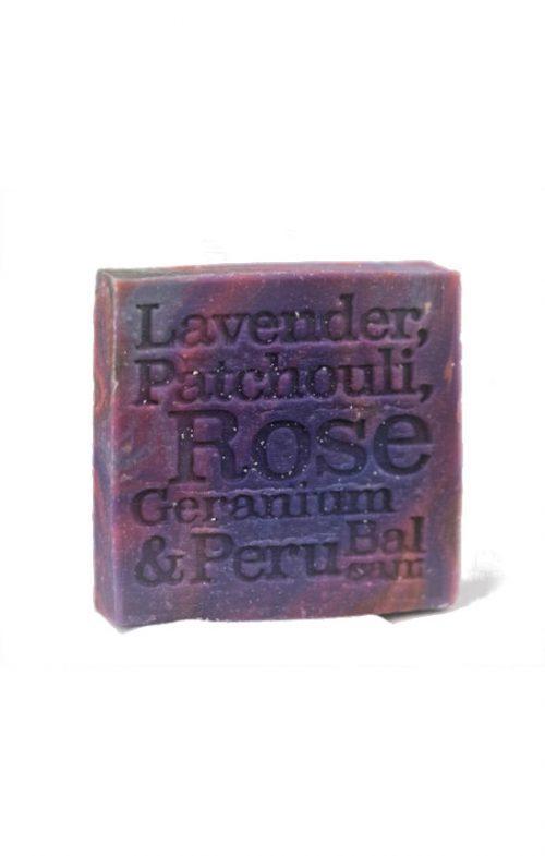 CORRYNNES SOAP LAVENDER PATCHOULI ROSE GERANIUM