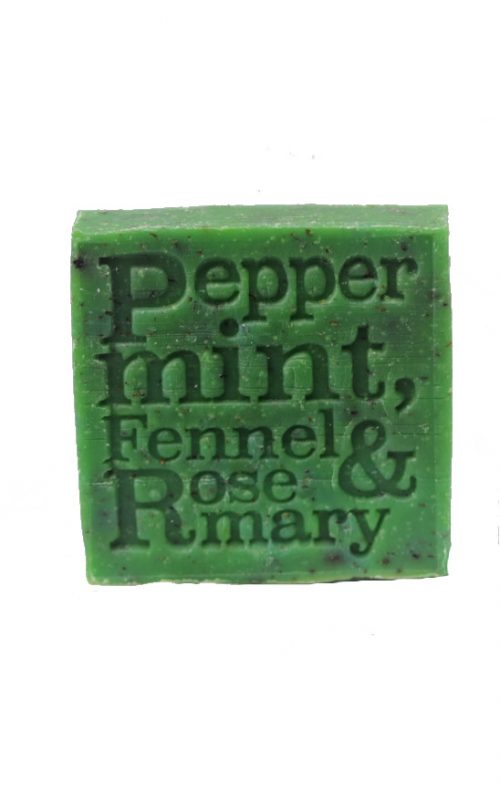 corrynnes soap peppermint fennel rosemary