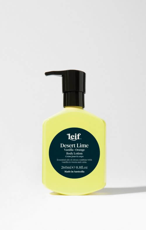 leif desert lime body lotion