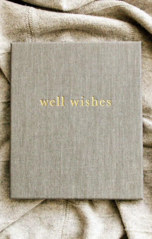 write to me well wishes grey