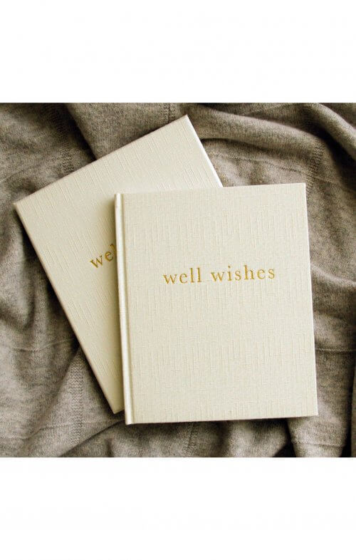 write to me well wishes white