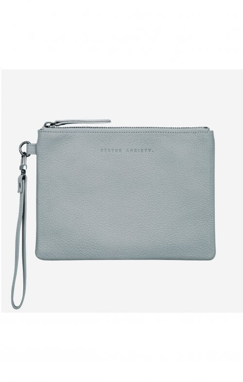 status anxiety fixation wallet arctic grey