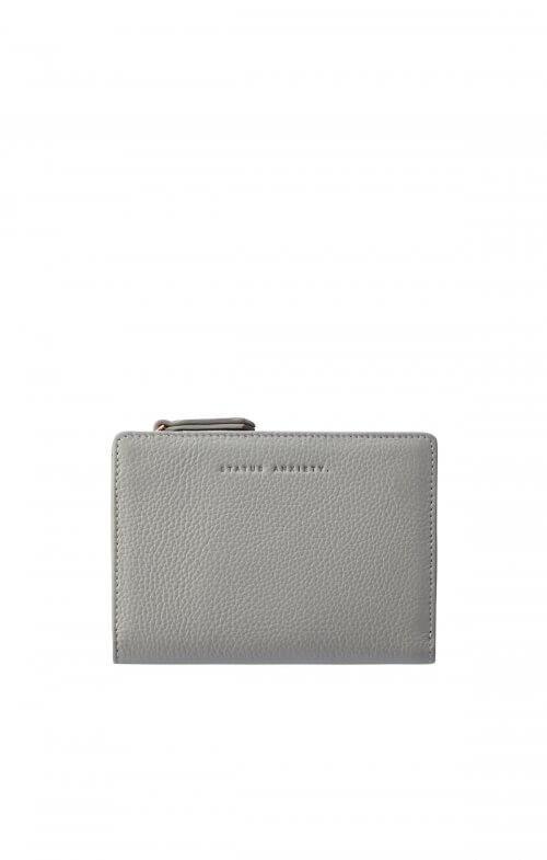 status anxiety insurgency wallet light grey