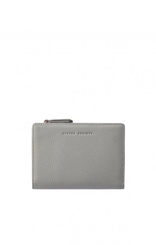 status anxiety insurgency wallet light grey