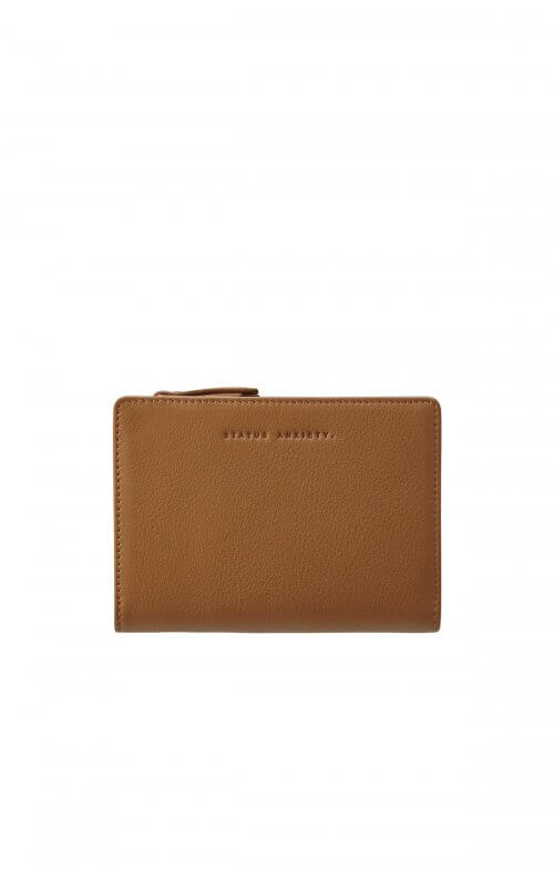 status anxiety insurgency wallet tan
