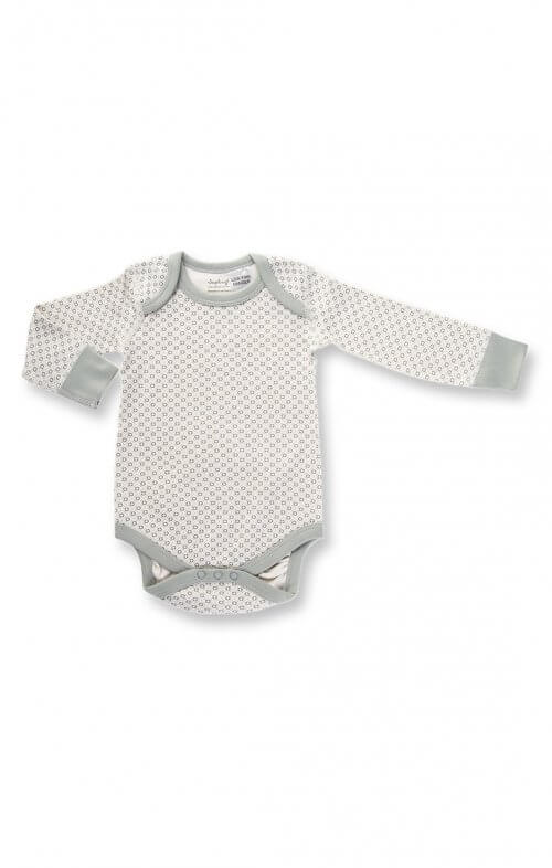 sapling dove grey long sleeve bodysuit