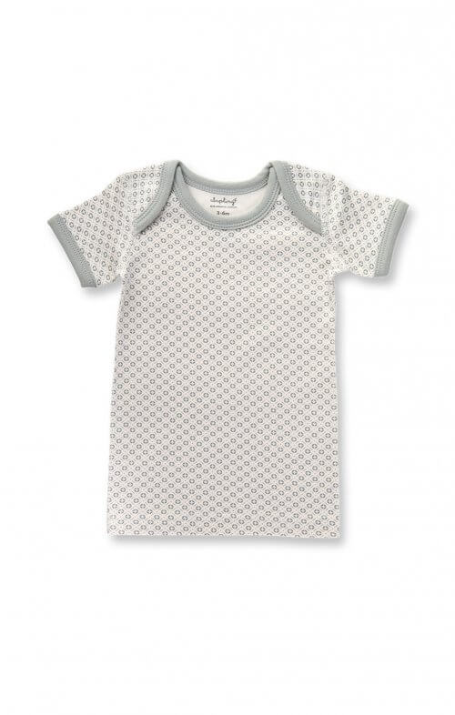 sapling dove grey short sleeve tee