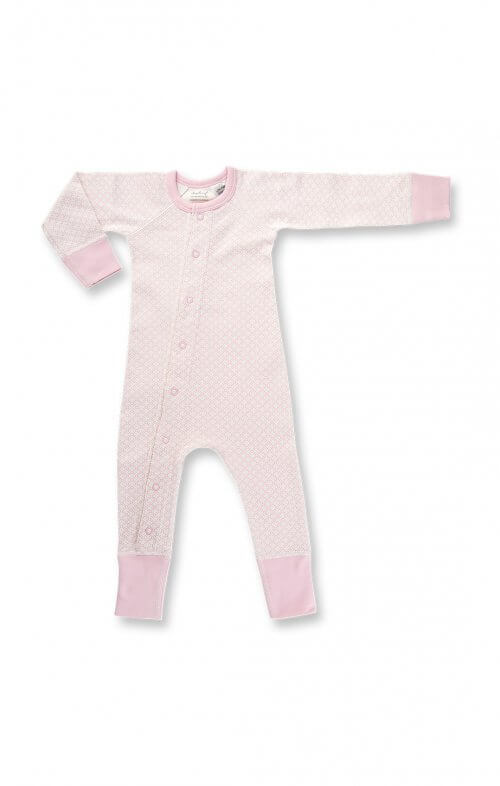 sapling dusty pink essential romper