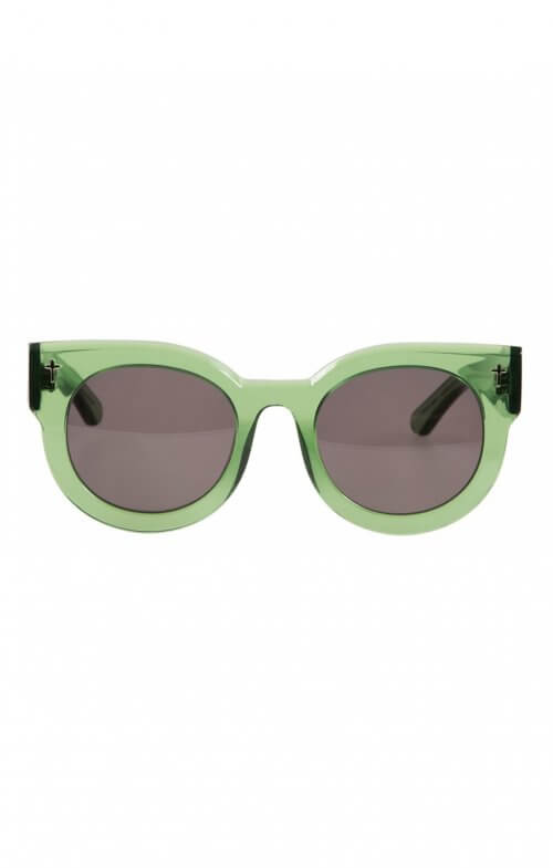 valley a dead coffin club sunglasses bottle green