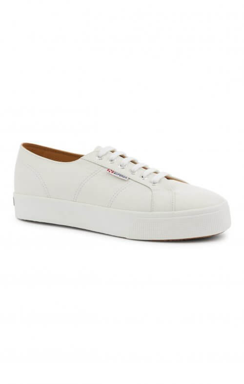 SUPERGA 2730 LEATHER WHITE
