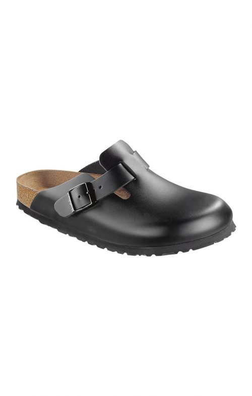BIRKENSTOCK BOSTON SMOOTH LEATHER BLACK