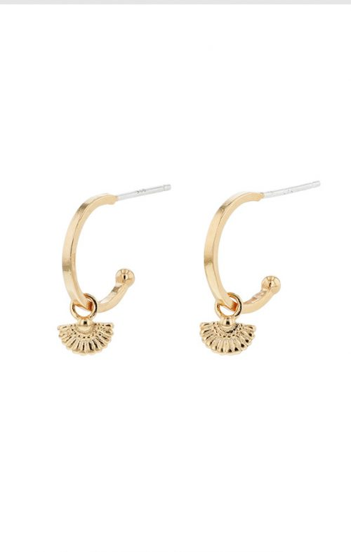 JOLIE & DEEN PRIYA EARRINGS GOLD