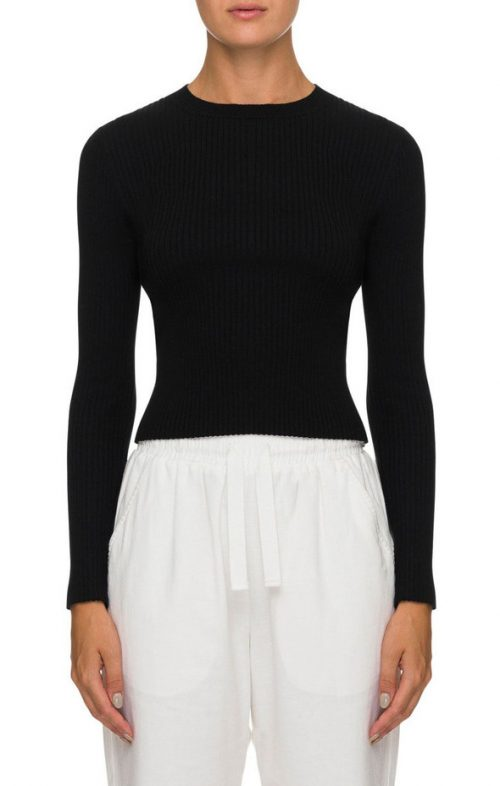 NUDE LUCY CLASSIC KNIT BLACK