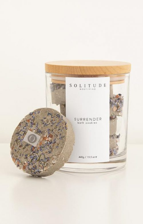 solitude bath cookies surrender jar