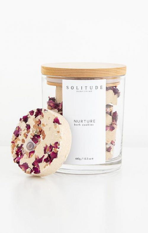 solitude bath cookies nuture rose