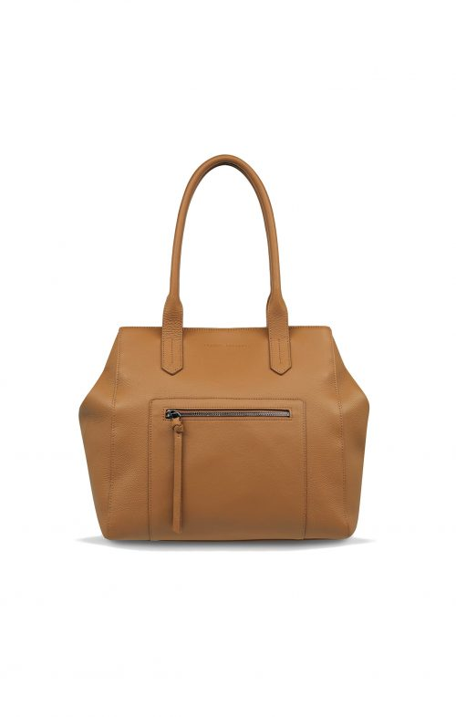 STATUS ANXIETY ABANDON TOTE BAG TAN