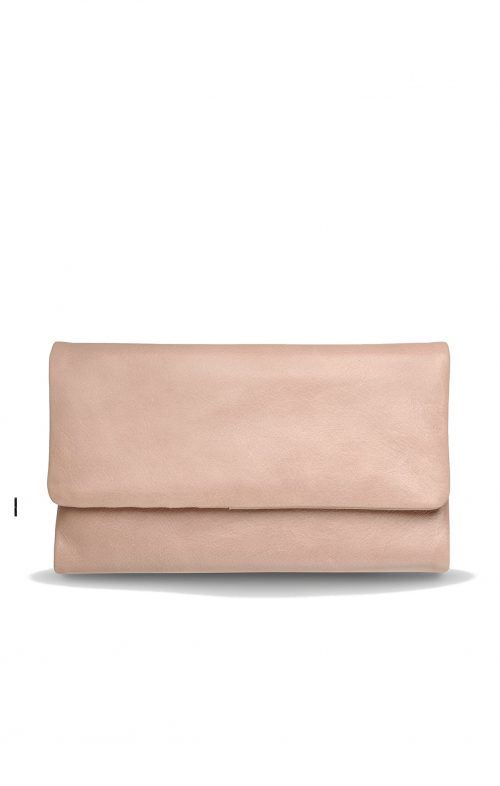 STATUS ANXIETY AUDREY WALLET DUSTY PINK