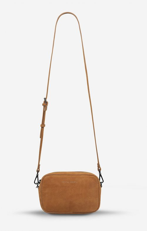 STATUS ANXIETY PLUNDER BAG NUBUCK TAN