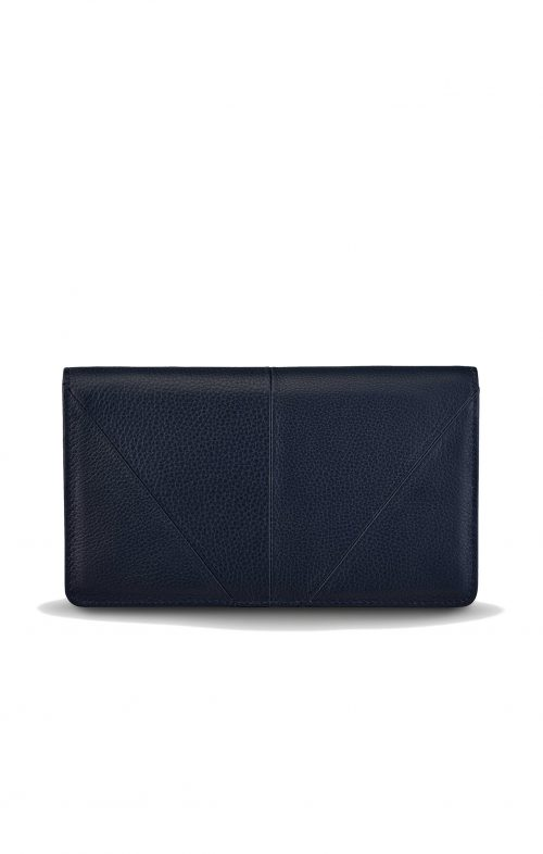 STATUS ANXIETY TRIPLE THREAT WALLET NAVY