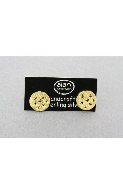 ALAN MYERSON STARRY EARRING GOLD SILVER