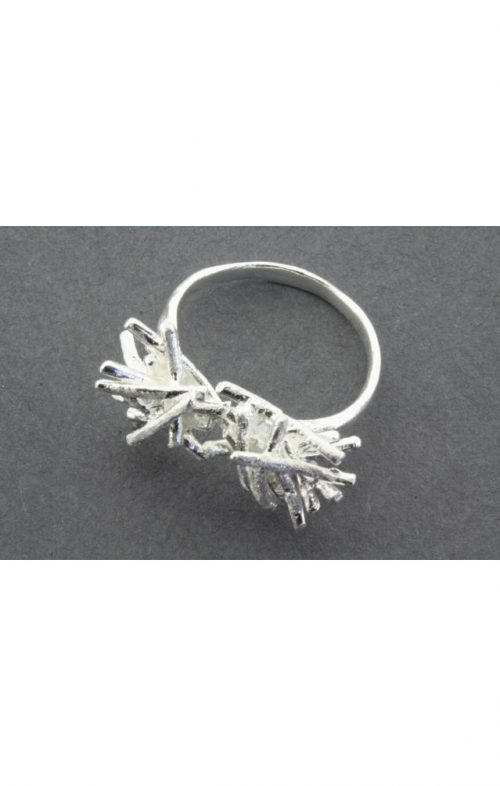 ALAN MYERSON SILVER KINDLING RING