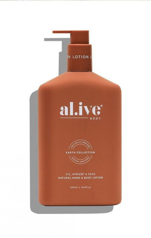 ALIVE BODY HAND LOTION FIG APRICOT SAGE