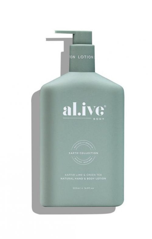 ALIVE BODY HAND LOTION KAFFIR LIME GREEN TEA