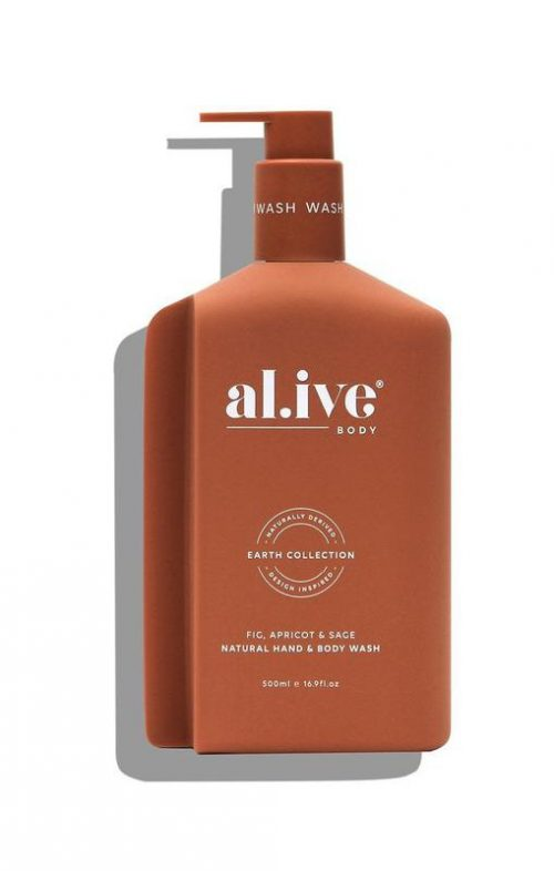 ALIVE BODY HAND WASH FIG APRICOT SAGE