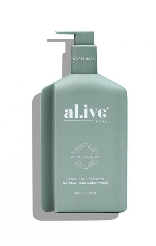 ALIVE BODY HAND WASH KAFFIR LIME GREEN TEA