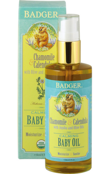 BADGER BABY OIL CALMING
