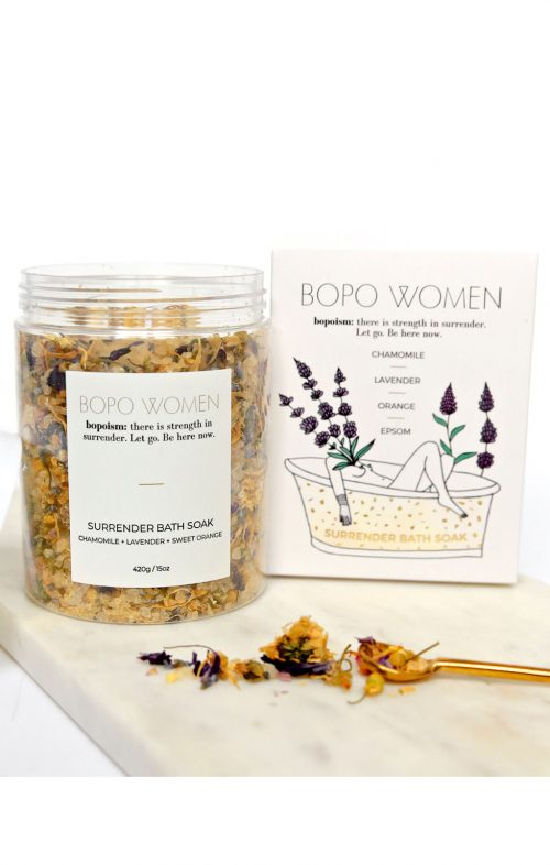 BOPO WOMEN BATH SOAK SURRENDER