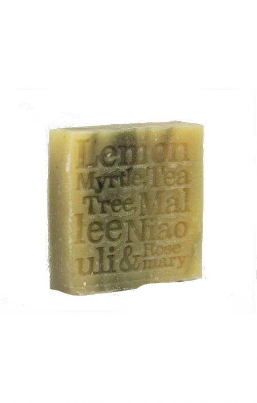 CORRYNNES SOAP LEMON MYRTLE EUCALYPTUS TEA TREE
