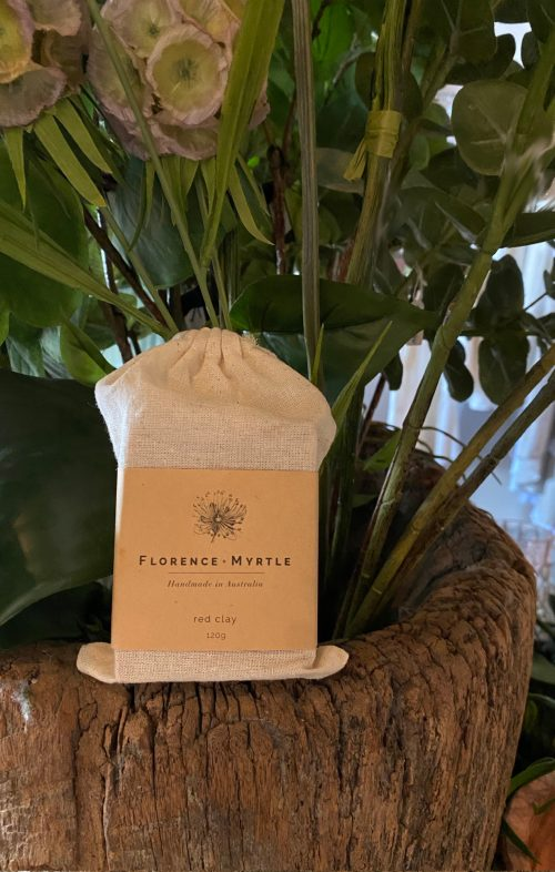 FLORENCE AND MYRTLE SOAP RED CLAY