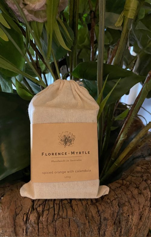 FLORENCE AND MYRTLE SOAP SPICED ORANGE CALENDULA
