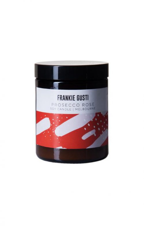 FRANKIE GUSTI HONEYS LITTLE CANDLE PROSECCO ROSE