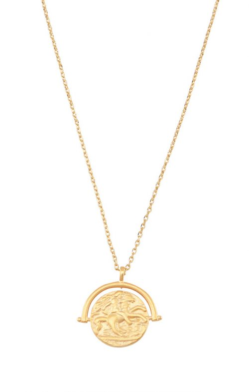 JOLIE & DEEN TOBIE COIN NECKLACE GOLD