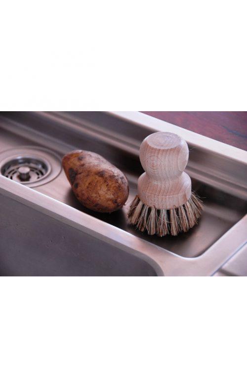 keller bursten pot pan scrubbing brush