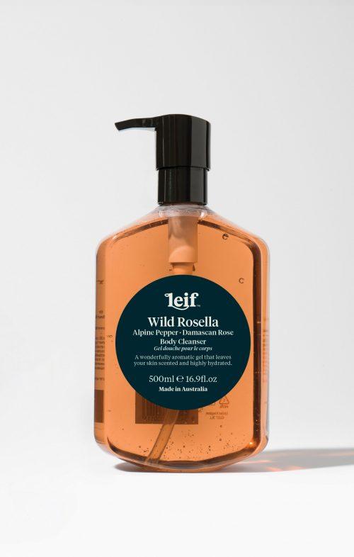 leif wild rosella body cleanser 500ml