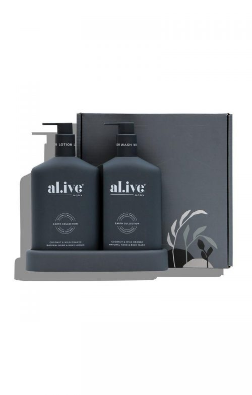 ALIVE BODY DUO SET COCONUT WILD ORANGE